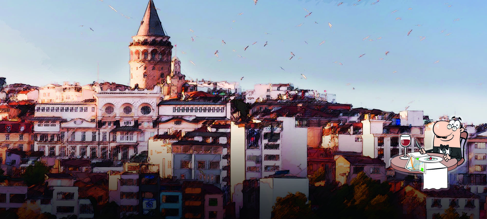 Istanbul: two world parts in one city