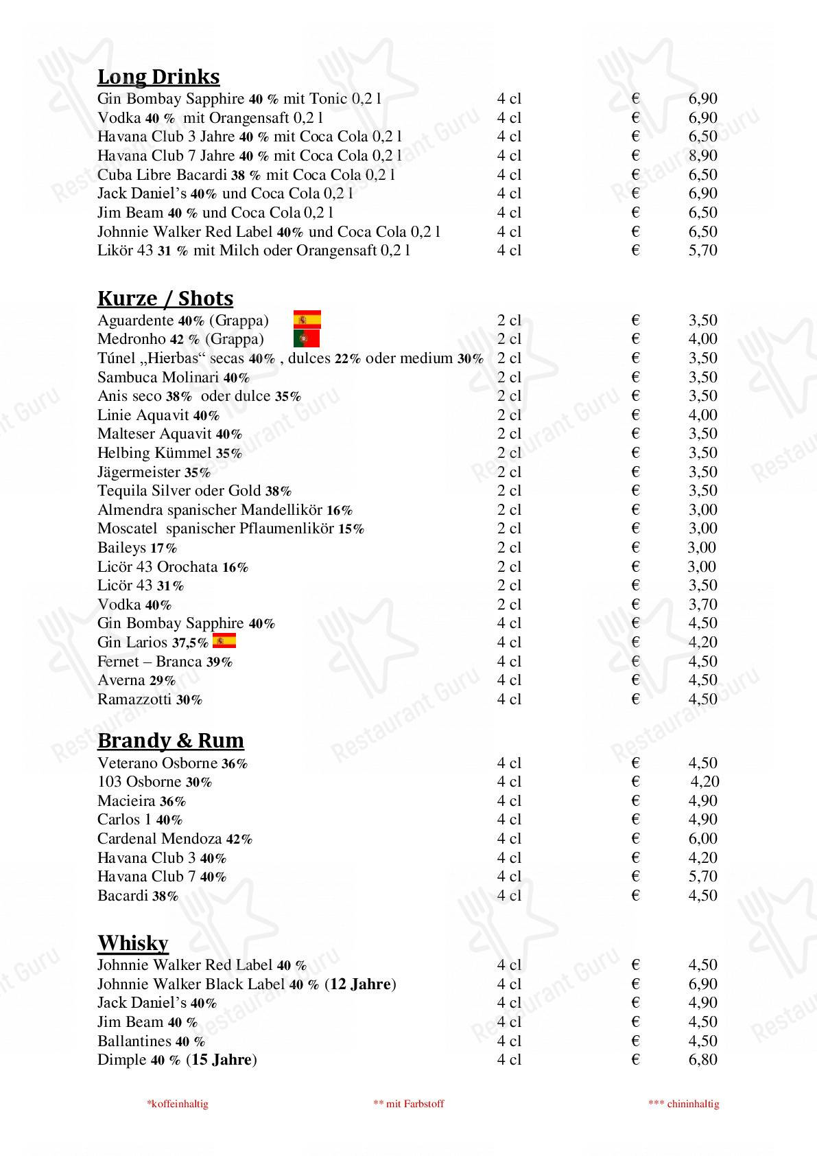 Check out the menu for Casa Del Sabor