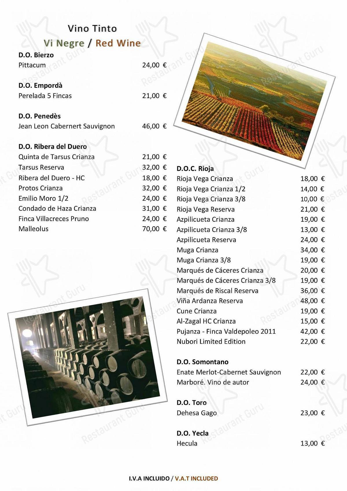 Carta de Balmes 103 - Hotel Barcelona Center
