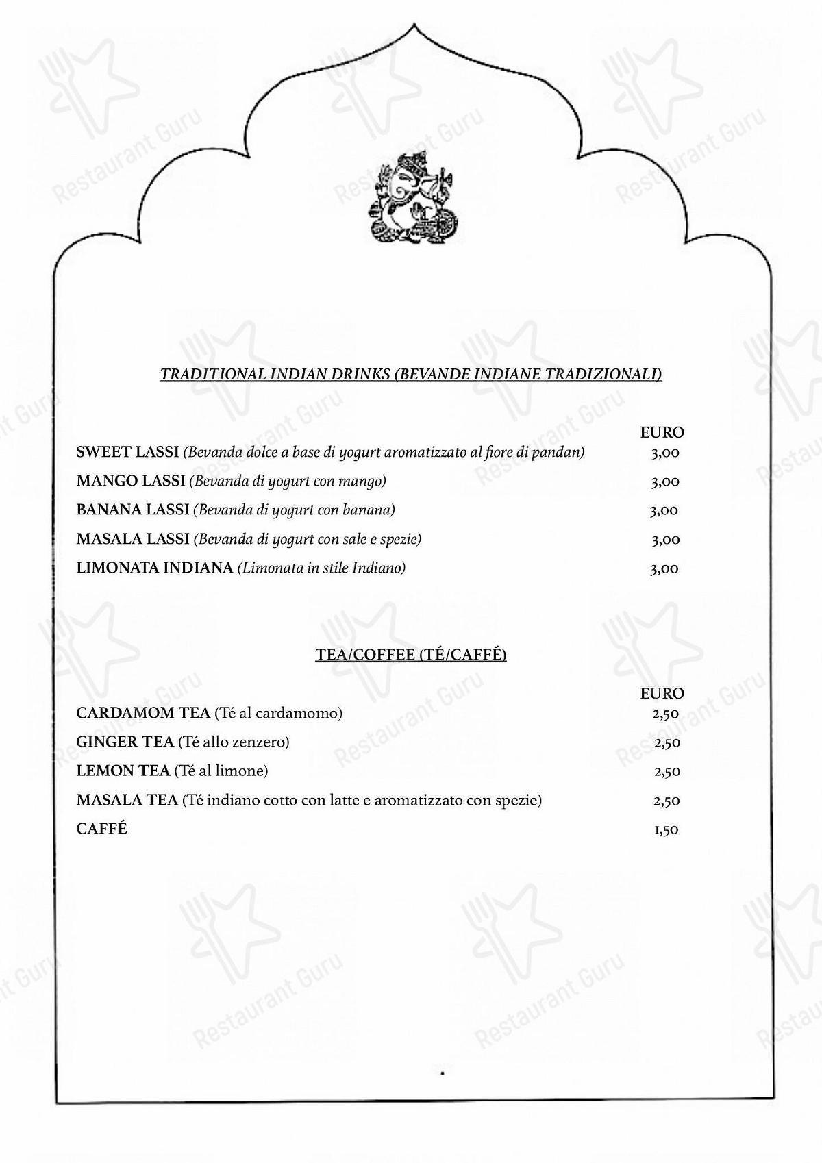 Menu di Himalaya Palace - piatti e bevande