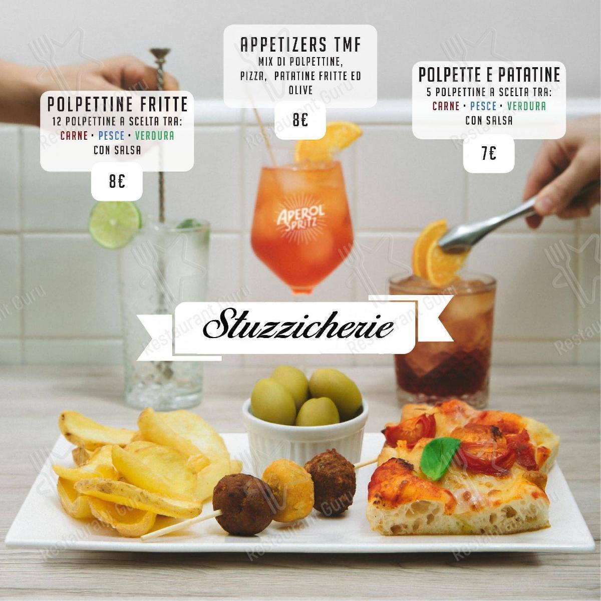 Meatball Family Speisekarte - Gerichte und Getränke