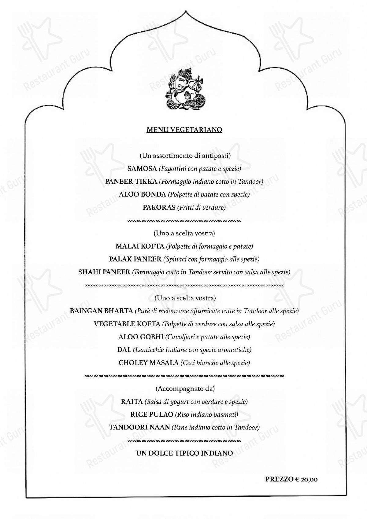 Menu di Himalaya Palace - pasti e bevande