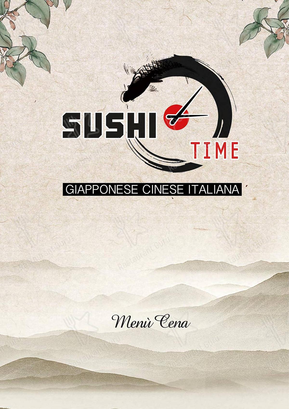 Guarda il menu di Sushi Time