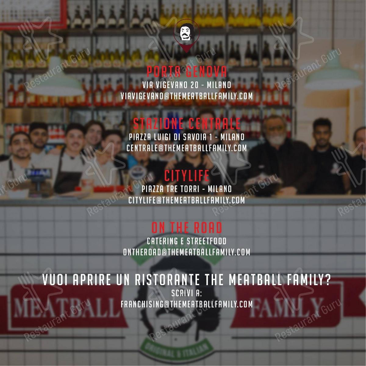 Seht euch die Speisekarte von Meatball Family an