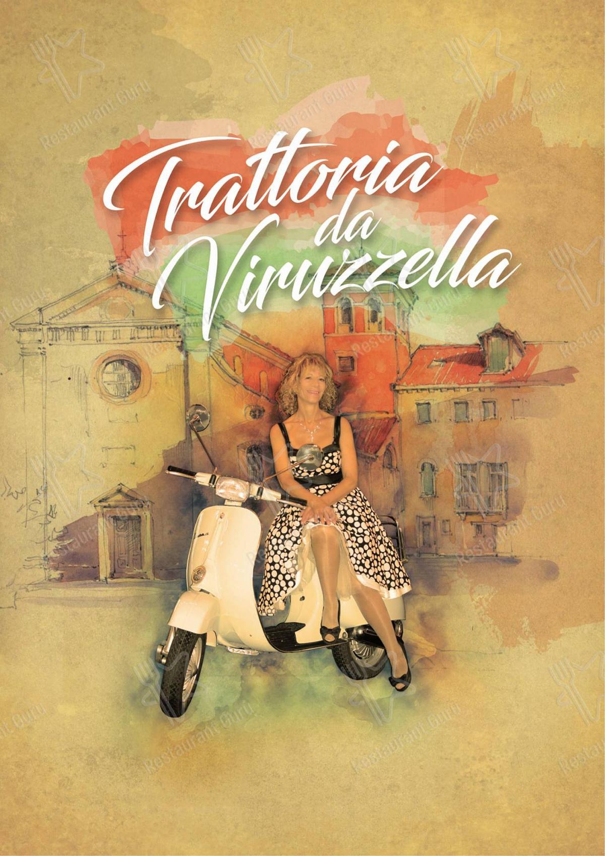 Взгляните на меню Trattoria da Viruzzella