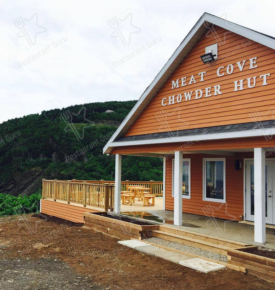 Meat Cove Chowder Hut menu - dishes and beverages