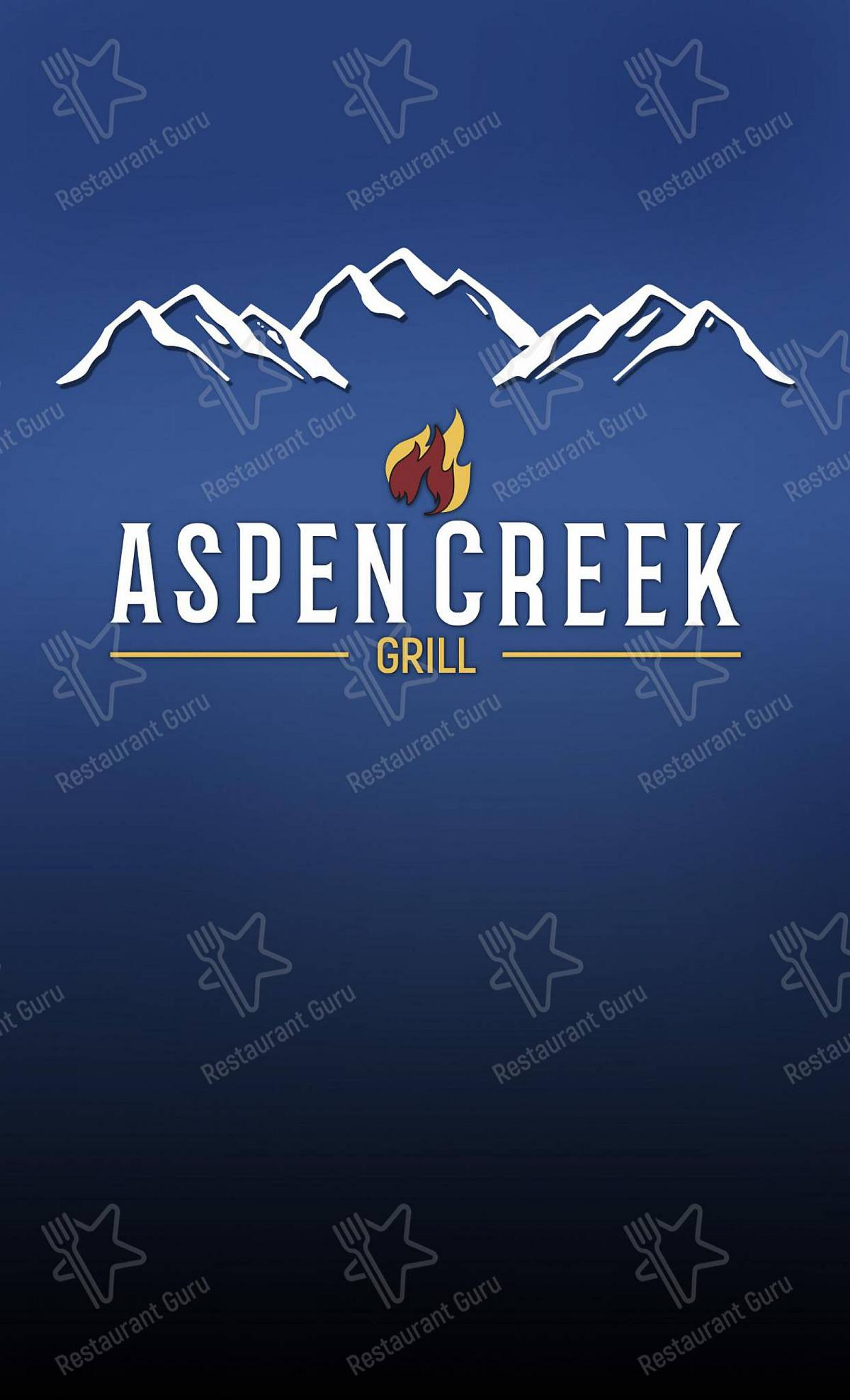 Aspen Creek Grill - Restaurant Noblesville menu - meals and drinks