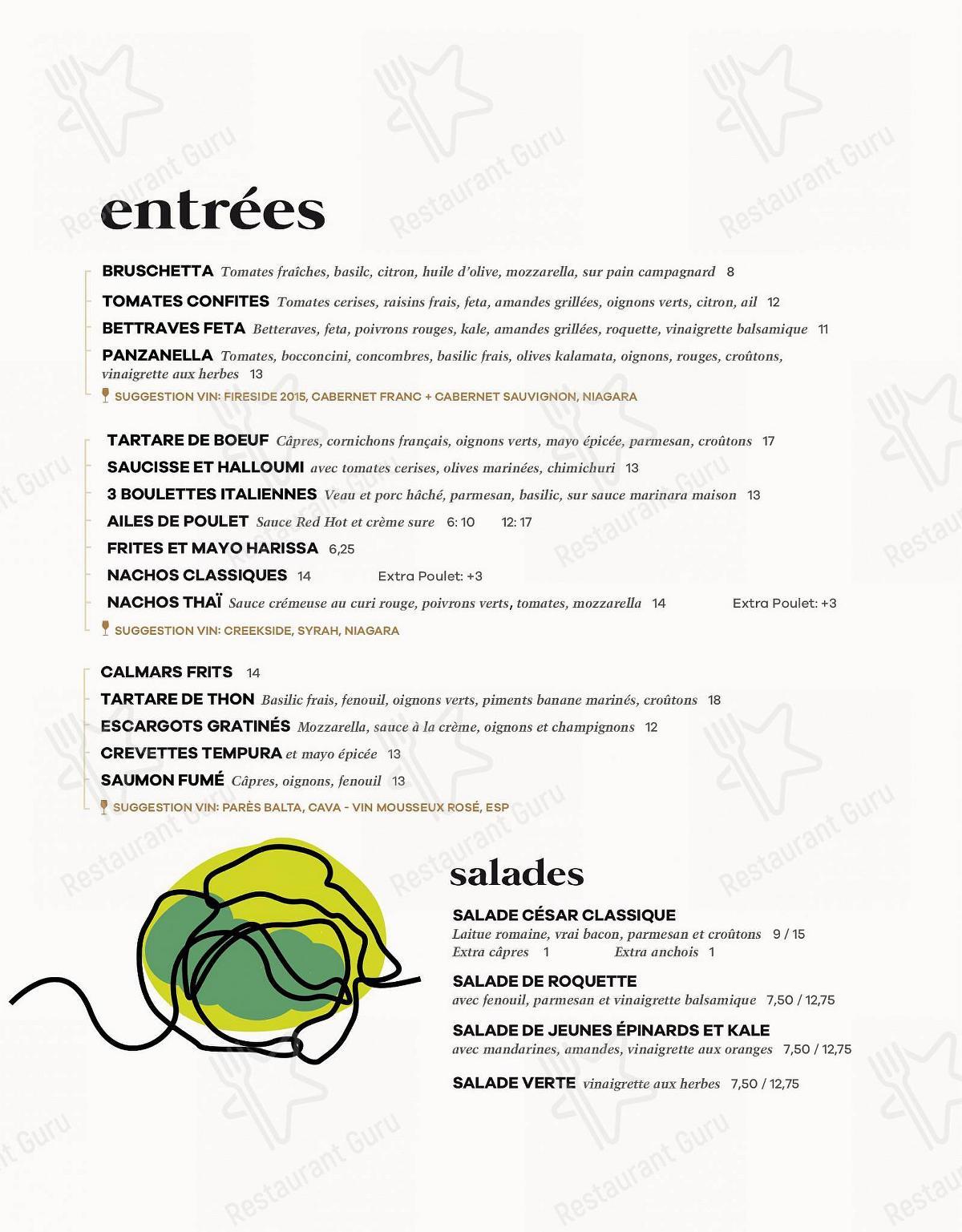 Check out the menu for Pizzé
