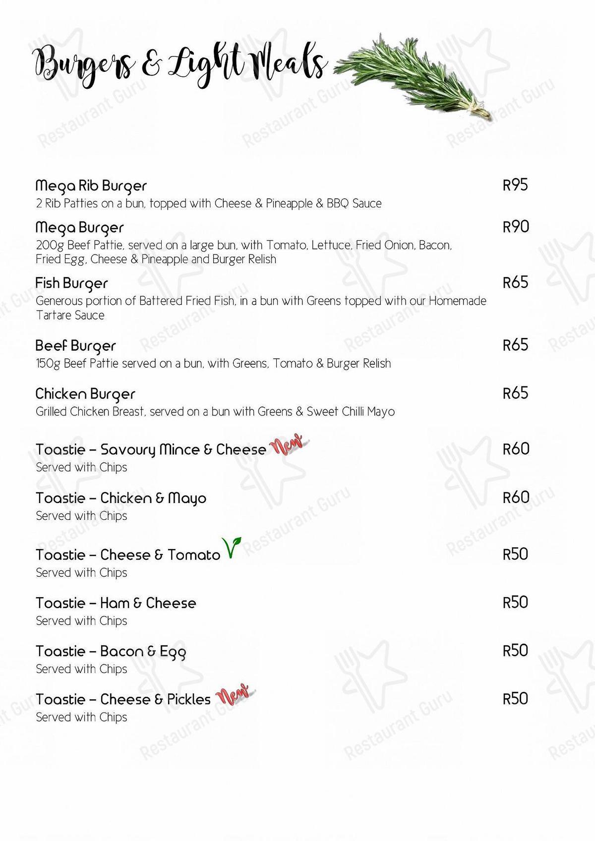 Check out the menu for Steve's Pub & Restaurant