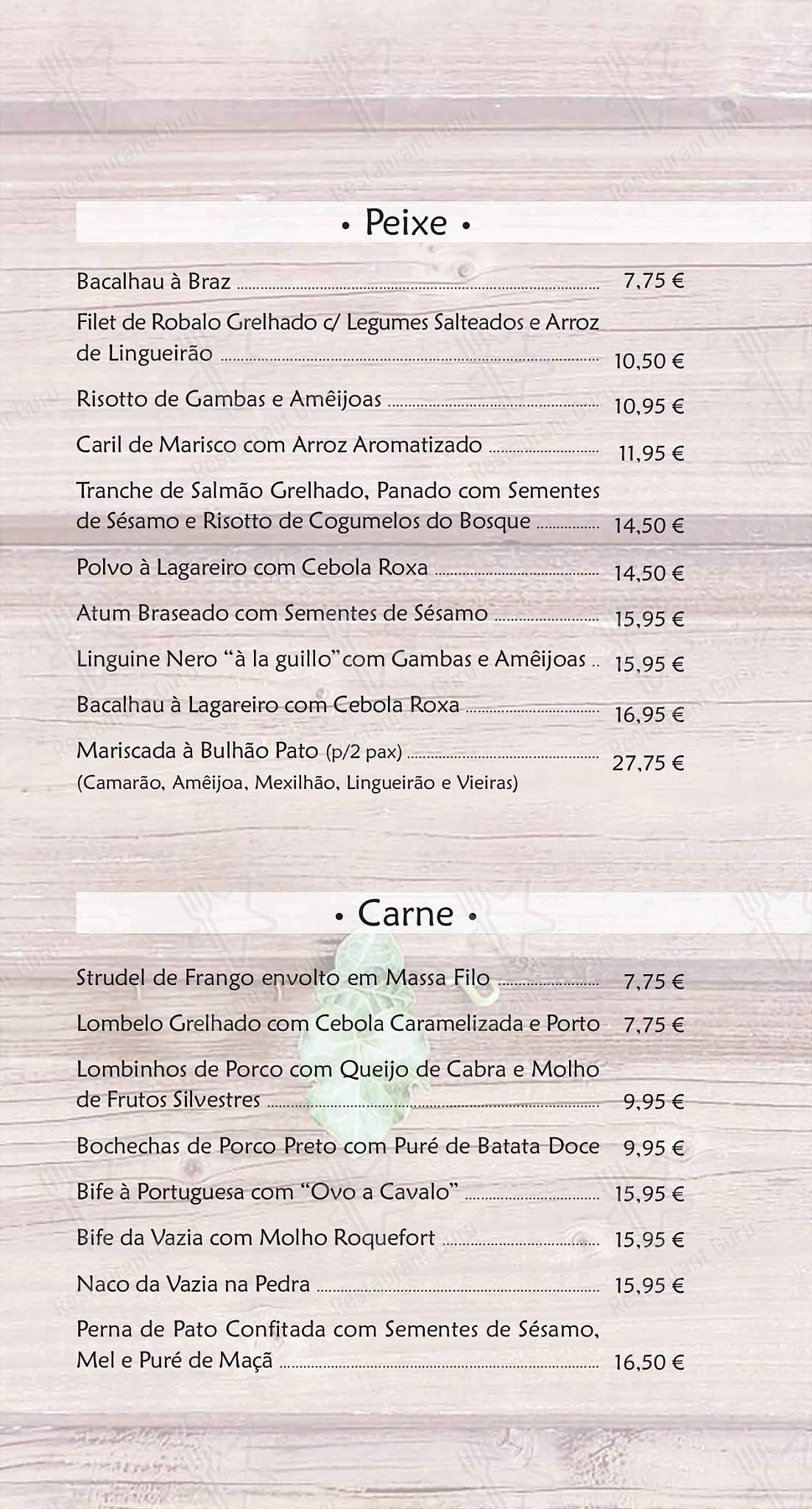 Explore o menu para Restaurante Stasha