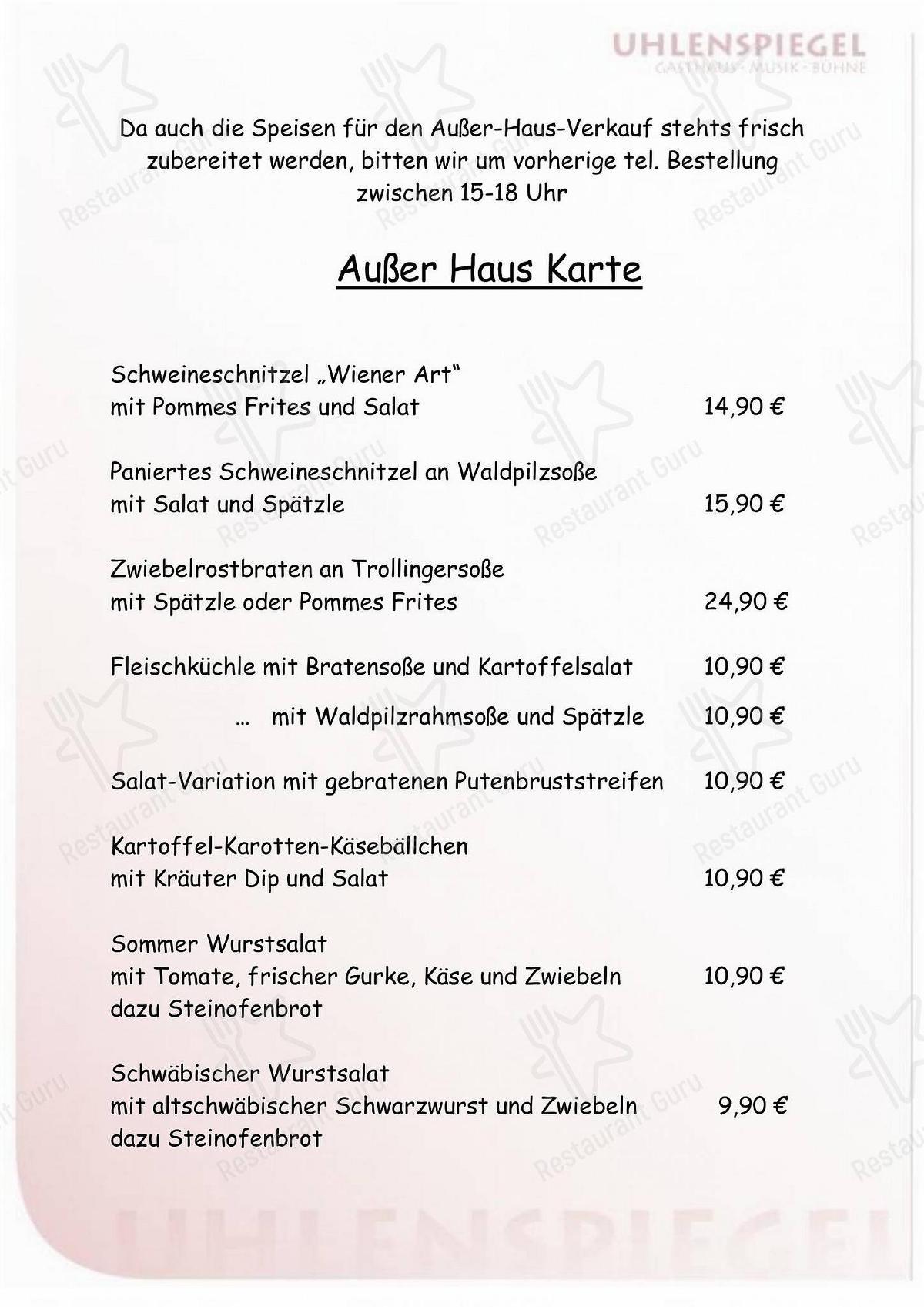 Kraxl alm rutesheim speisekarte