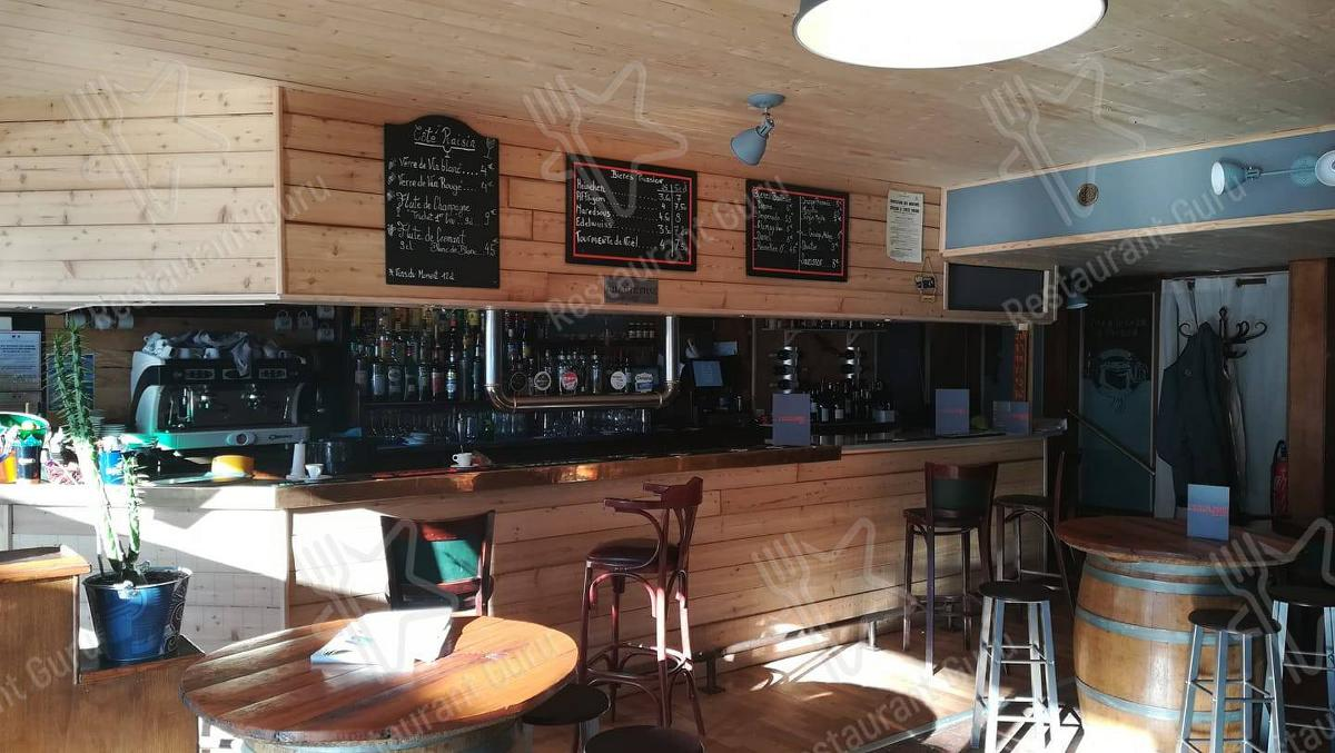 Menu for the L'Equilibre restaurant Serre Chevalier 1400 pub & bar
