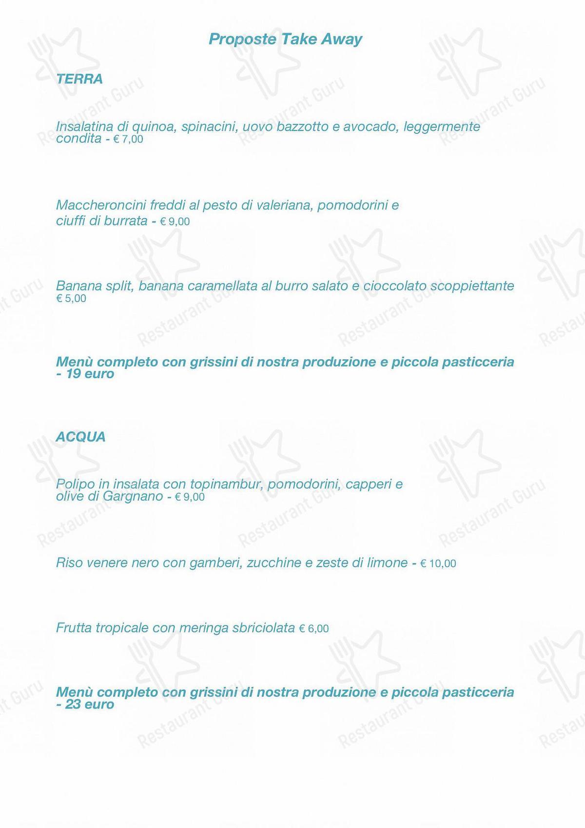 Guarda il menu di Ristorante La Darsena