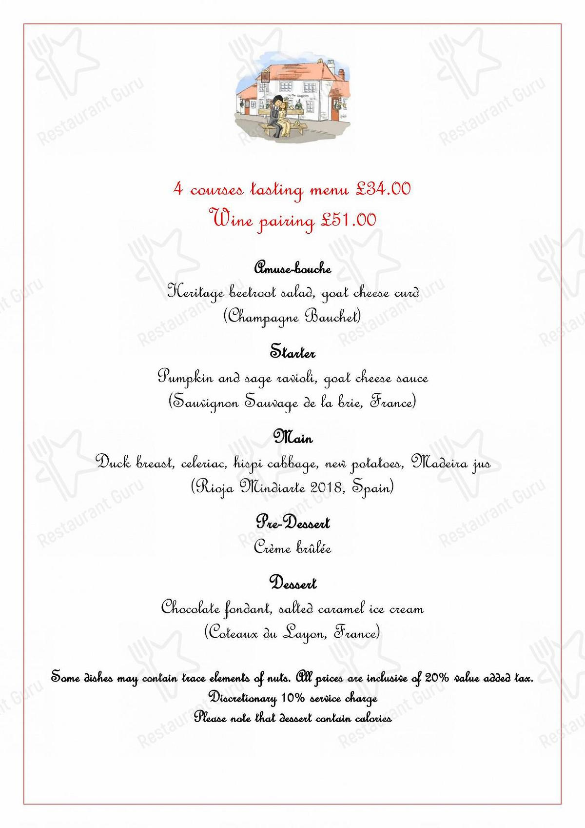 Check out the menu for The Waggoners