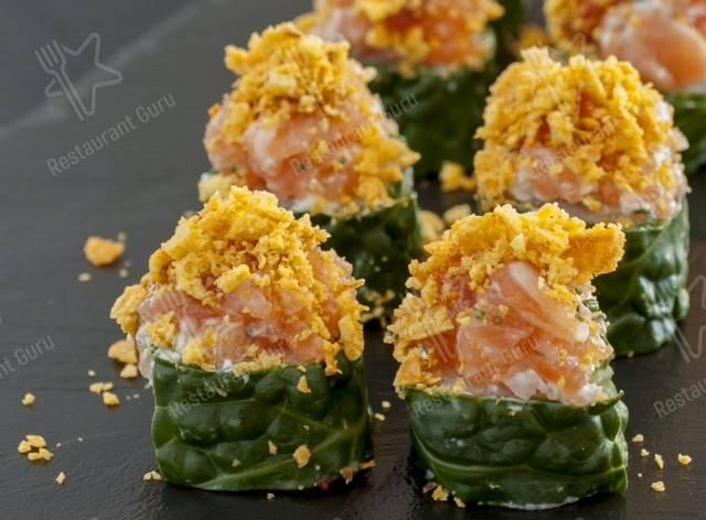 Menu for the Saikō restaurant