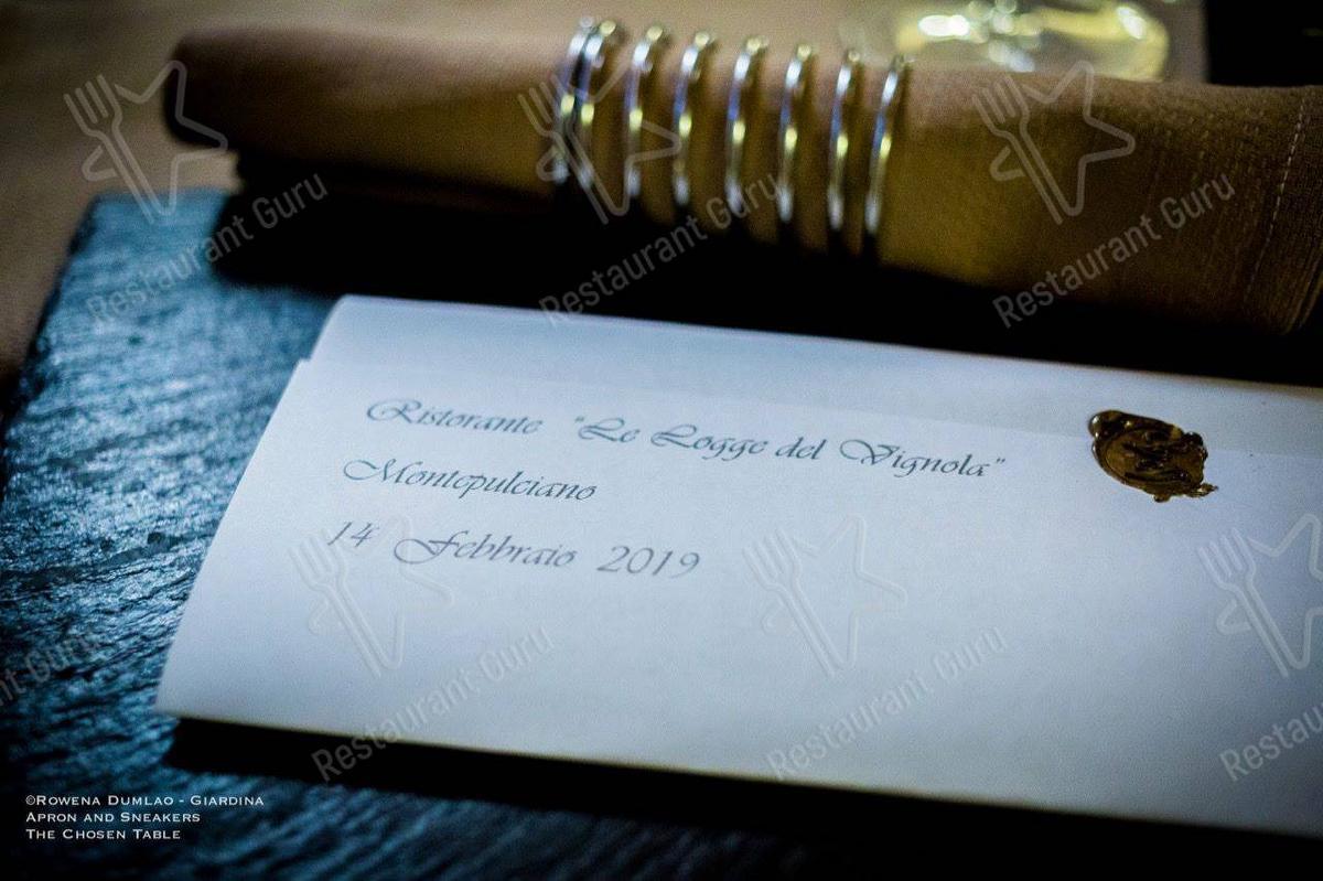 Speisekarte von Le Logge del Vignola restaurant