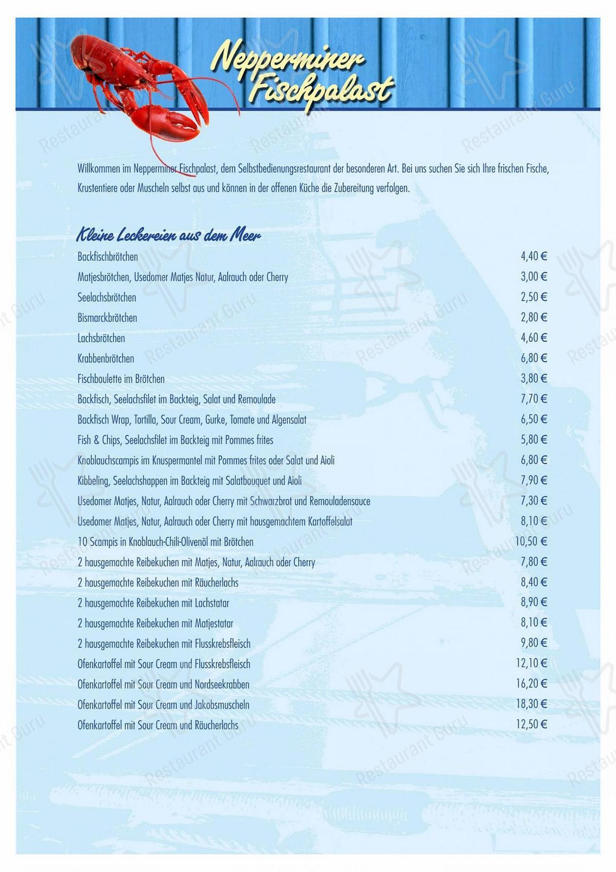 Carta de Nepperminer Fischpalast