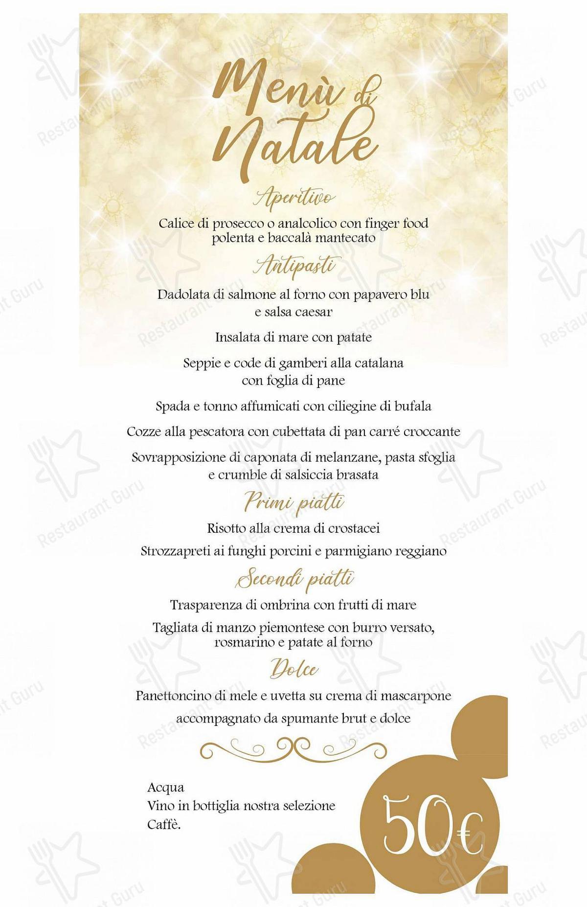 Ristorante Sabi Menu per Ristorante Pizzeria Sabi in Chiuduno