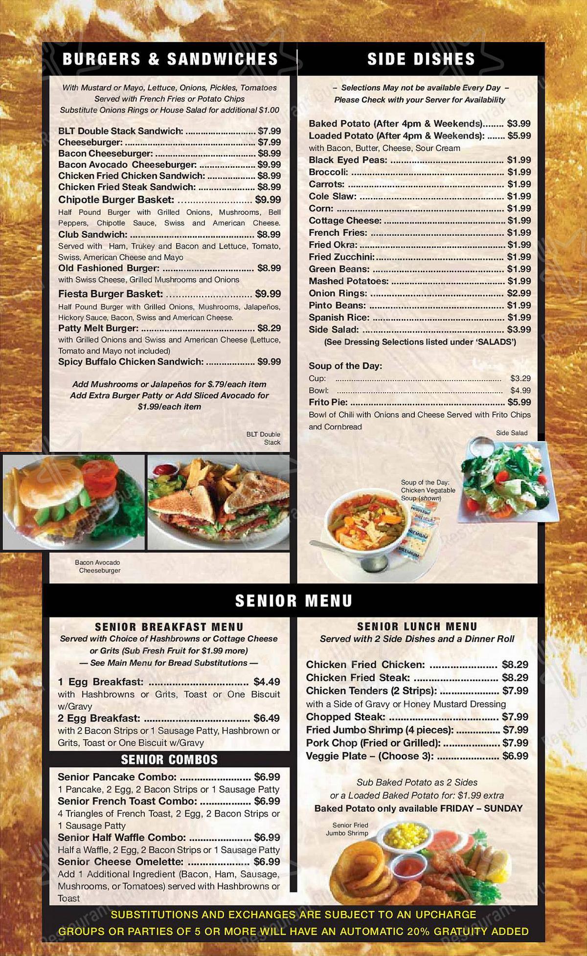 Good Day Cafe menu