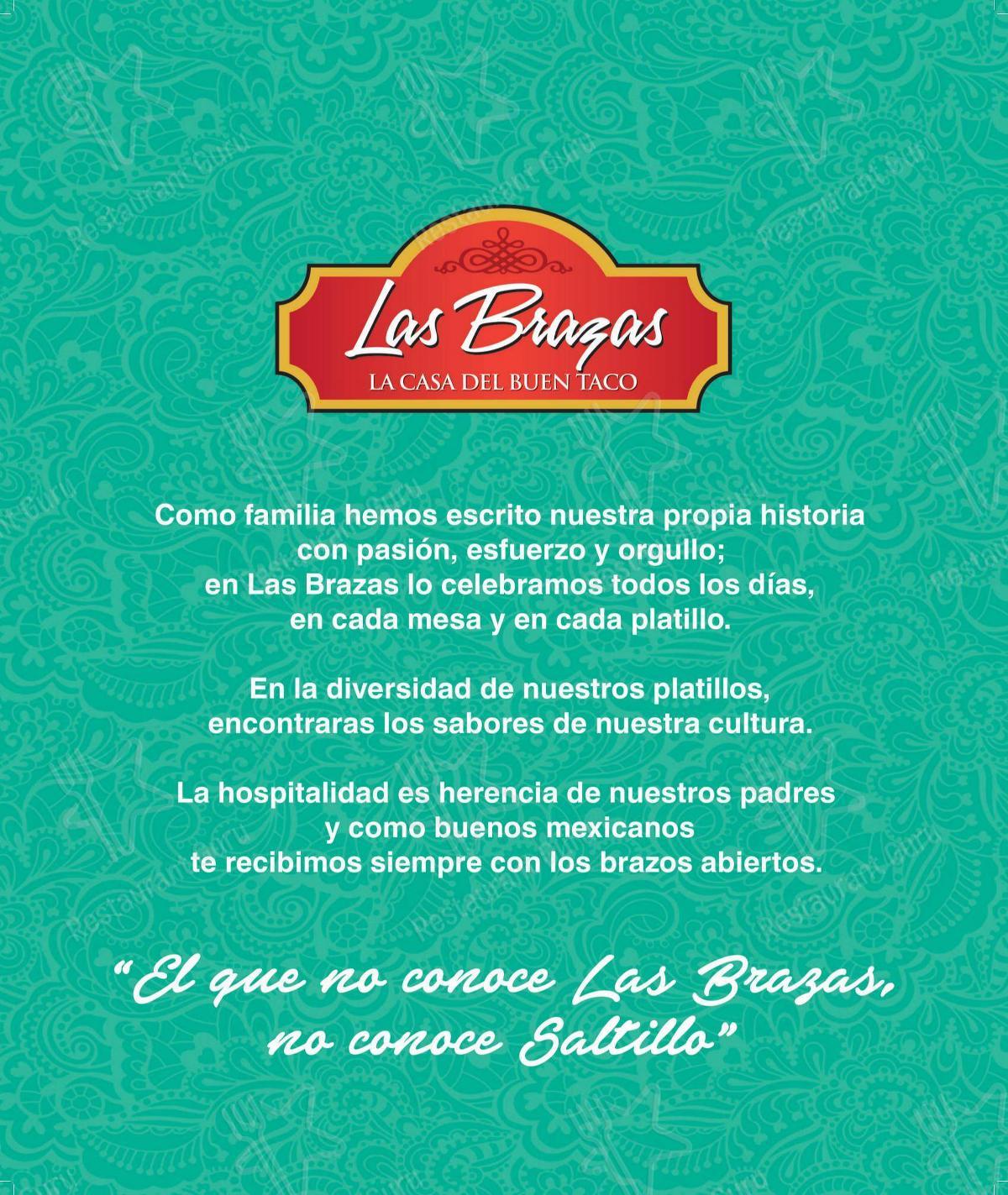 Mira la carta de Las Brazas - Paseo Tec