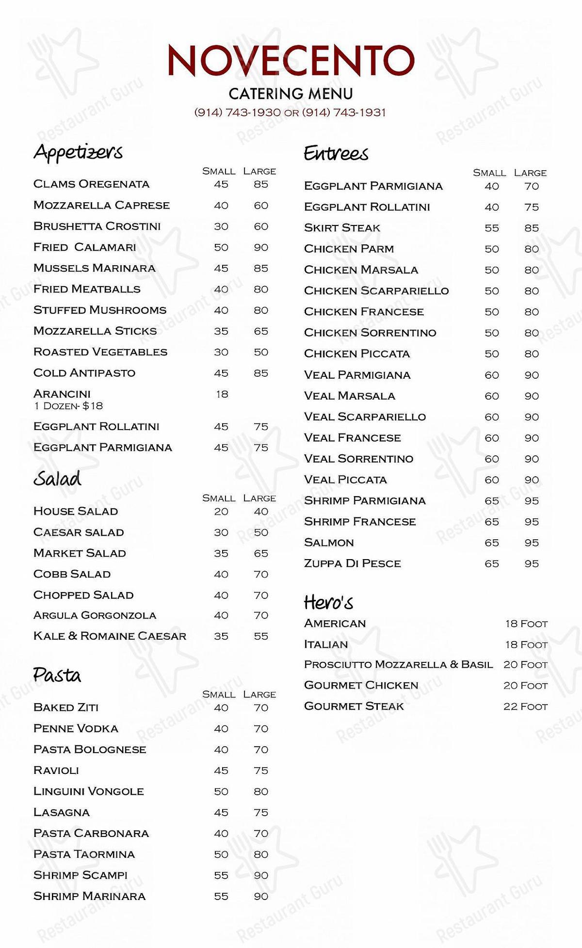 901 Wood Burning Kitchen & Bar menu - meals and drinks