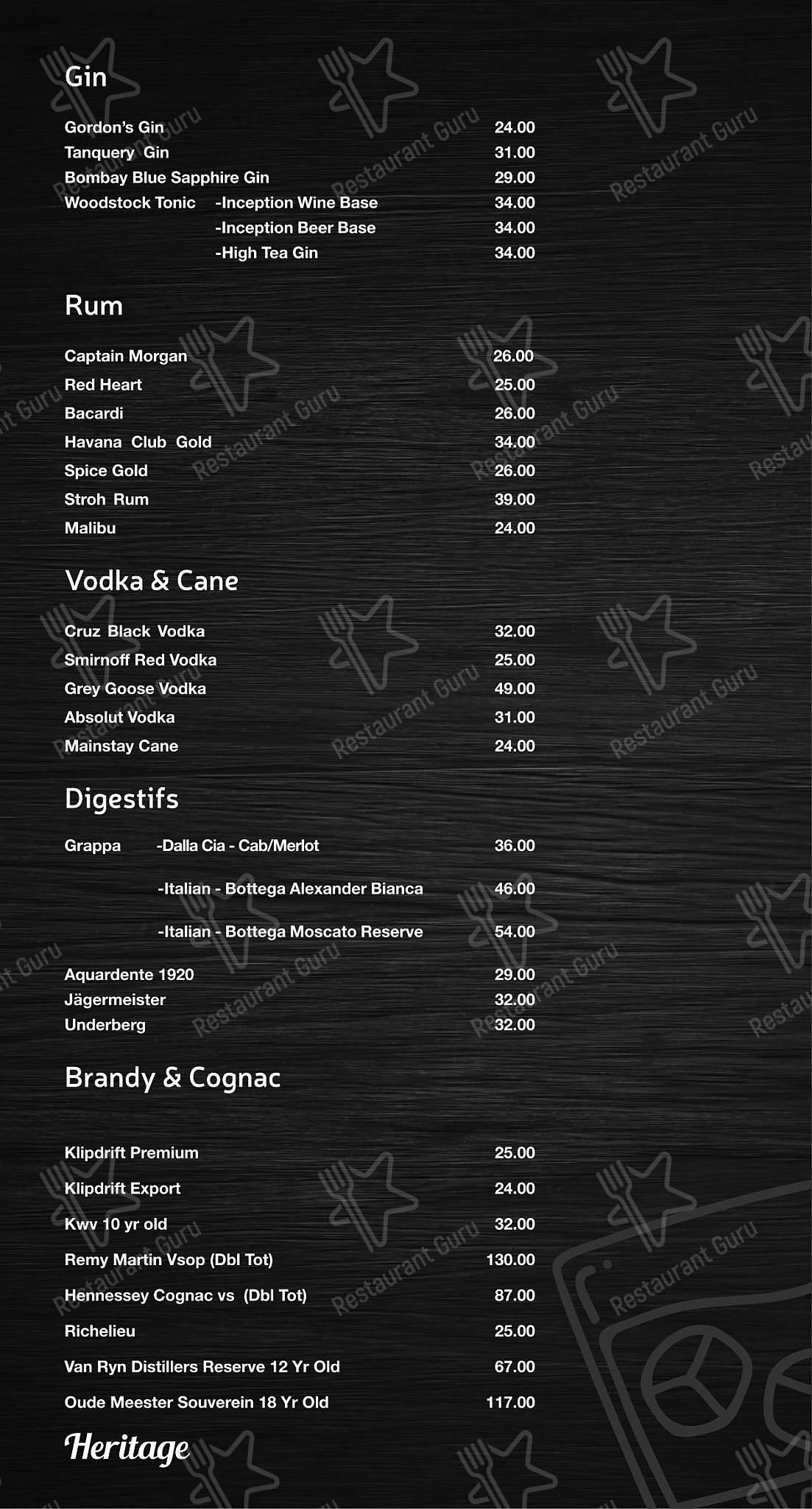 Check out the menu for Mike's Kitchen