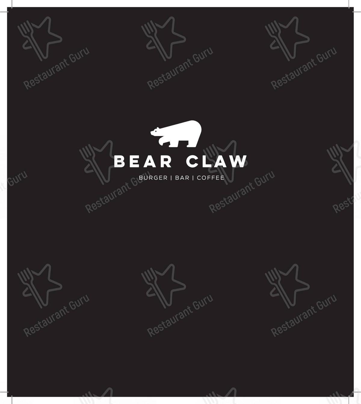 Mira la carta de Bear Claw