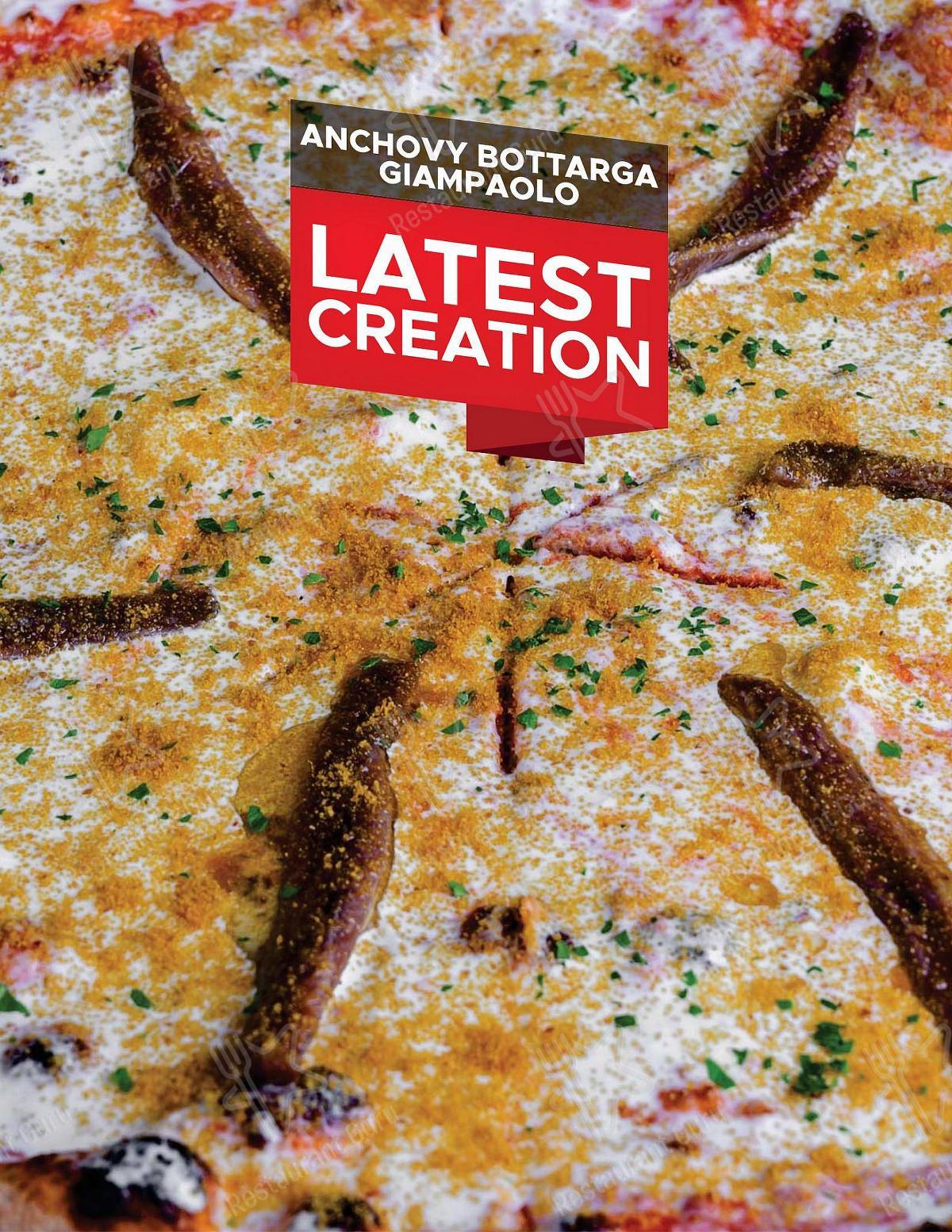 Меню Mister O1 Extraordinary Pizza - еда и напитки