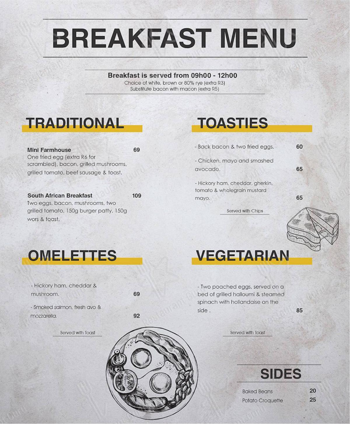 Delivery Menu for the Mike's Kitchen restaurant