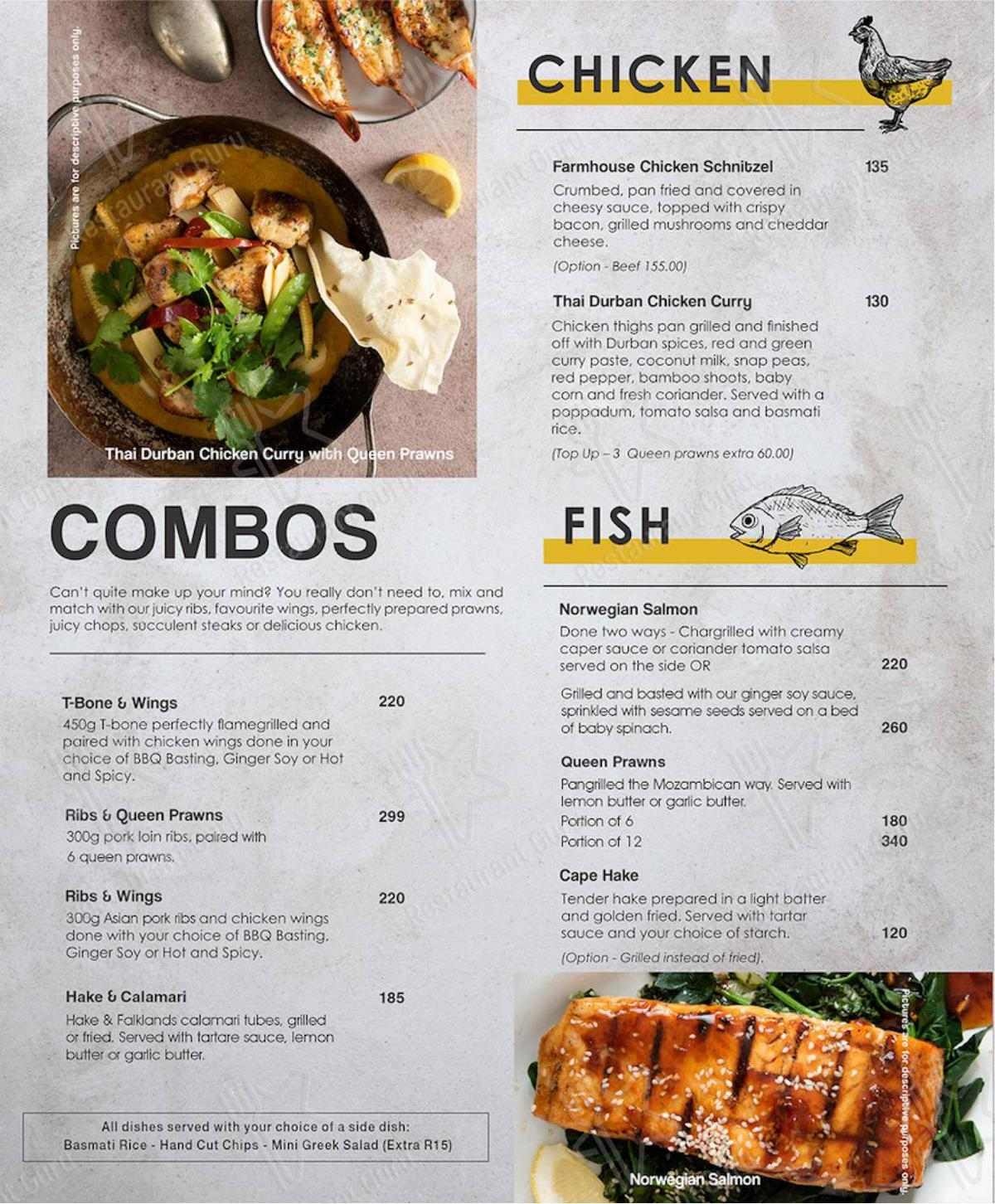 Mike's Kitchen in Johannesburg - Delivery Menu