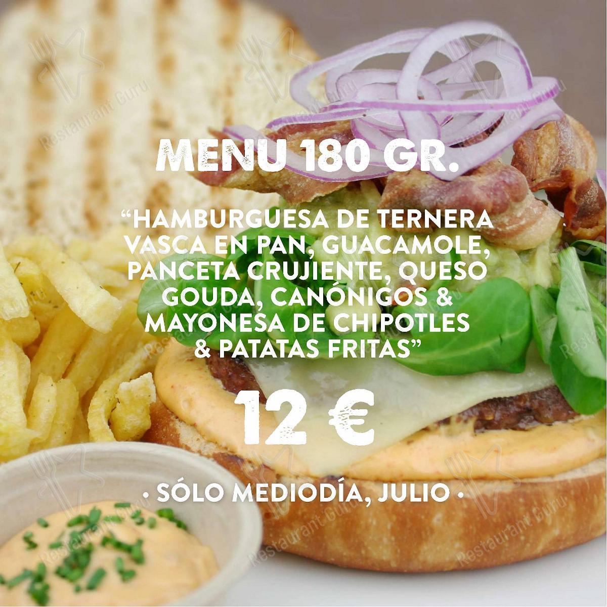 Hamburguesería Jalos menu - meals and drinks