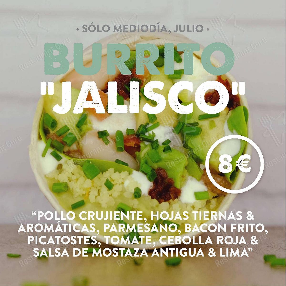 Hamburguesería Jalos menu - dishes and beverages