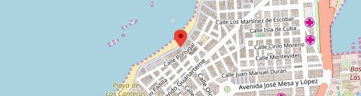 180 Grados Express en el mapa