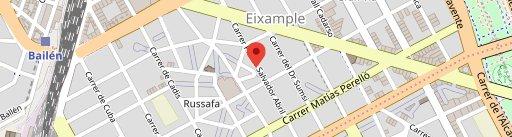 2 Estaciones - Restaurante en Valencia en el mapa