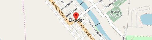2 Mit Burger on map