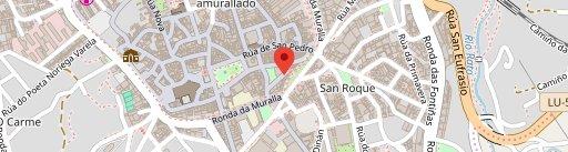 Cova da Meiga on map