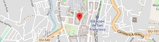 A Taberna Restaurante en el mapa
