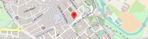 Restaurante Ábaco en el mapa