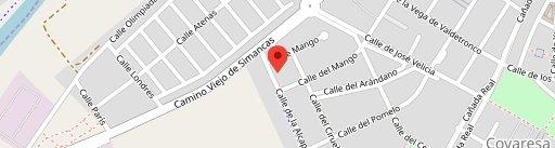 Acero Restaurante Cafeteria на карте