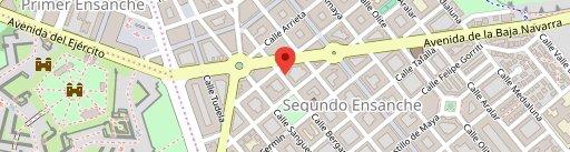 Restaurante Alhambra en el mapa