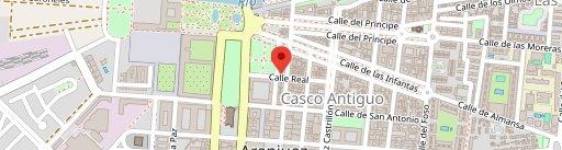 Restaurante La Almazara en el mapa