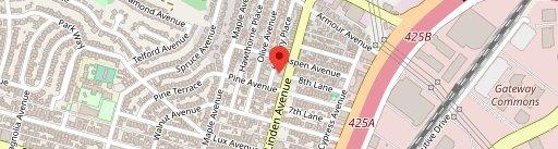 Amoura Restaurant on map