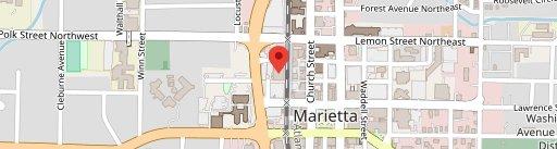 Marietta Square Market on map