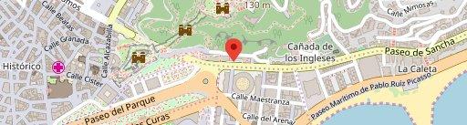 Anyway Wine Bar en el mapa