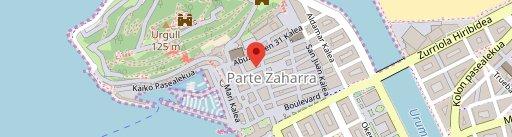 Aralar en el mapa
