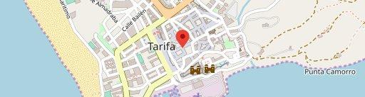 Arde Tarifa on map