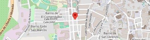 Restaurante Asador Al Andalus en el mapa