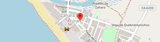A'tunante Zahara en el mapa