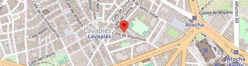 Automático en el mapa
