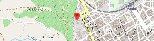 Azahar en el mapa